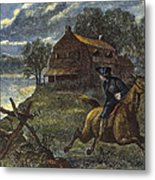 Paul Reveres Ride Metal Print