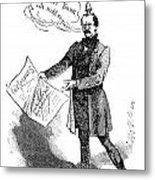 Prince Otto Von Bismarck  Metal Print