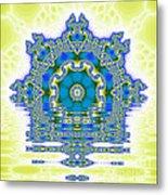 The Kaleidoscope Reflections Metal Print