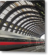 Train Station Metal Print