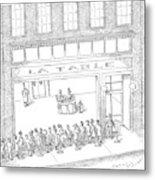 New Yorker February 13th, 2006 Metal Print