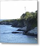 Cliff Walk Metal Print