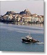 Views From Corfu Greece Metal Print
