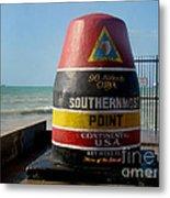 90 Miles To Cuba Metal Print