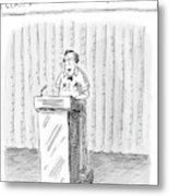 Rodney Krebs: Class Valedictorian Or G.p.a. Whore? Metal Print