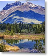 90524-23 In The Bull River Valley Metal Print