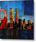 911 Never Forget Metal Print