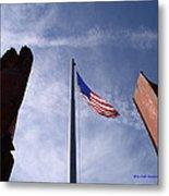 911 Tribute At Winslow Arizona Metal Print