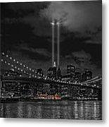 911 Tribute Lights Metal Print