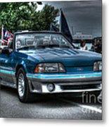 92 Mustang Gt Metal Print