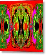 922 - A Psychedelic View ... Metal Print