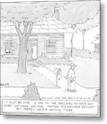 New Yorker July 7th, 2008 Metal Print