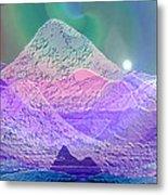 939 - Magic Mood  Mountain World Metal Print