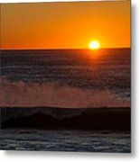 A Amazeing Sun Set Metal Print