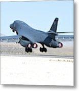 A B-1b Lancer From 28th Bomb Wing Metal Print