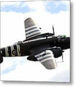 A B-25 Mitchell Performs At The Arctic Metal Print