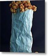 A Bag Of Popcorn Metal Print