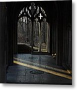 A Beam Of Light Metal Print