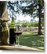 A Beautiful Day In Napa Metal Print