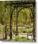 A Beautiful Place To Relax And Reflect Metal Print