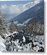 A Beautiful Winterday - Austrian Alps Metal Print