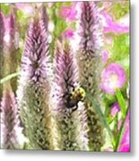 A Bee's Work Is Never Done Abwndwc Metal Print