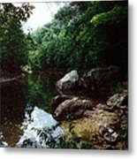 A Bend In The Baker Metal Print