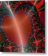 A Big Heart Metal Print