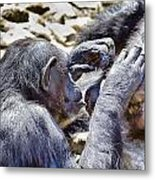 A Bit Like Us V4 Metal Print