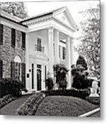 A Bit Of Graceland Metal Print by Julie Palencia