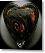 A Bit Of Heart Burn Metal Print