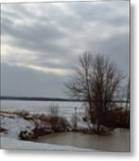 A Bleak Midwinter Day Metal Print