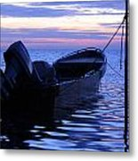 A Boat In The Morning Metal Print