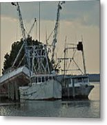 A Boat Named Cyclone Metal Print