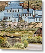A Bodie View From Above Metal Print