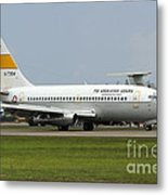 A Boeing 737-200 Of The Indonesian Air Metal Print