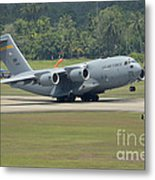 A Boeing C-17 Globemaster IIi Metal Print