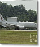 A Boeing E-7a Wedgetail Of The Royal Metal Print