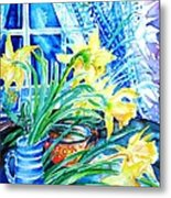 A Bouquet Of April Daffodils  Metal Print
