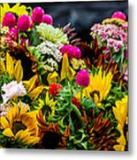 A Bouquet Of Flowers  Metal Print
