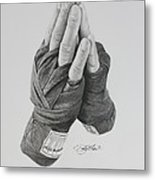 A Boxer's Prayer Metal Print
