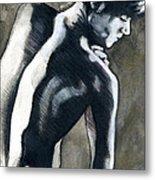 A Boy Named Shadow Metal Print