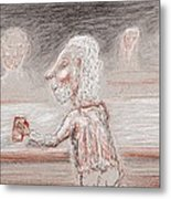 A Brew Please Metal Print