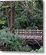 A Bridge In Central Park Metal Print