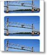 A Bridge Opening Metal Print