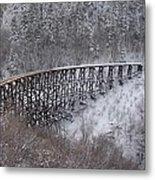 A Bridge To Nowhere Metal Print