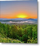 A Brighter Day Is Coming Metal Print