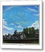 A Brother's Last Ride Metal Print
