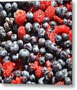 A Bunch Of Berries Metal Print