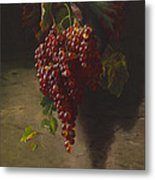 A Bunch Of Grapes Metal Print